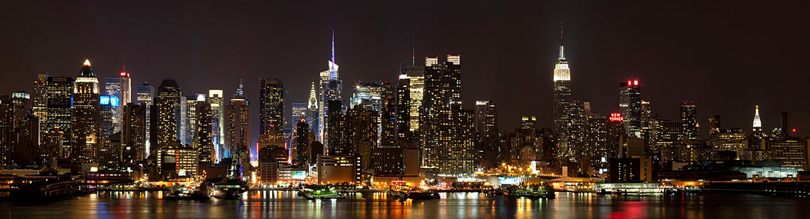 Panoramic view of Manhattan from Weehawken (Photo by Dmitry Avdeev)
